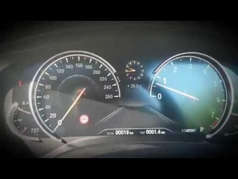 BMW G30 Instrument Cluster Sport Demo