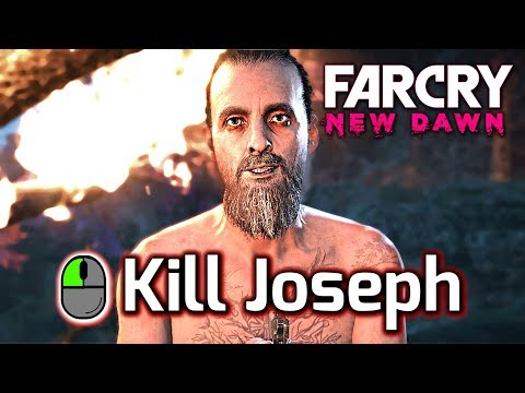 Far Cry New Dawn ► All Ending Variations - KILL Or SPARE Joseph Seed