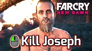 "Far Cry New Dawn ► All Ending Variations - KILL or SPARE Joseph Seed ""The Father"" & The Twin"