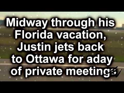Justin fly's back from Florida for day of meetings, then returns to Florida the next day