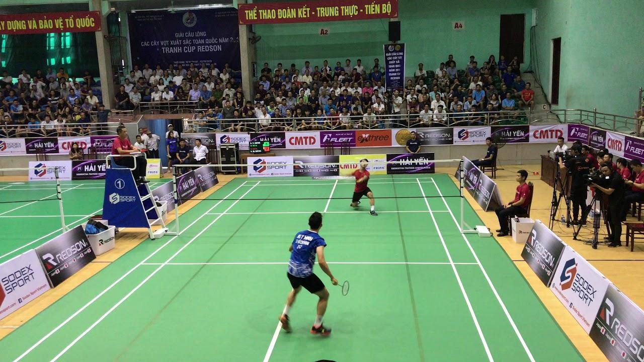 Chung kết cầu lông 2019: Nguyễn Tiến Minh vs Nguyễn Hải Đăng ...