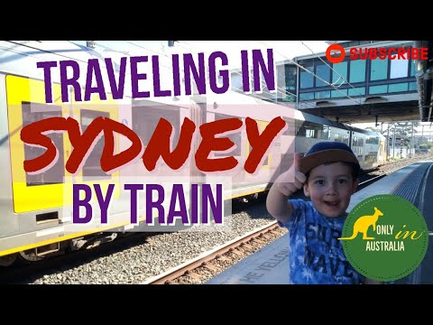 TRAVELING IN SYDNEY BY TRAIN | SYDNEY TRAINS | PUBLIC TRANSPORT IN SYDNEY | SYDNEY RAILWAY | SYDNEY
