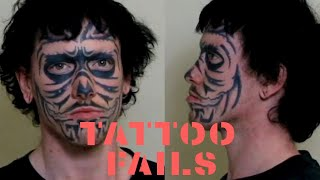 Worst Face Tattoo Fails That Are So Dumb They Are Funny