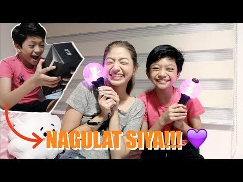 SURPRISING MY BROTHER + UNBOXING OUR ARMY BOMB!!! 💜💜   Philippines