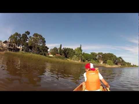 "Canoe Eureka - ""La Savonniere"" - Uruguay"