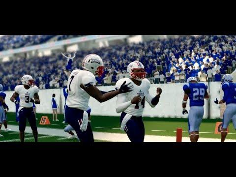 NCAA Football 14 Baltimore State Dynasty Year 2 - W13 vs Florida Atlantic