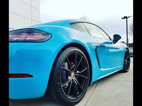 Driving the new Cayman S (and it why it is AWESOME)
