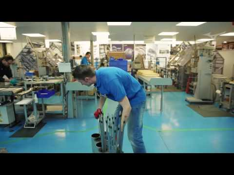 Assembly line for Mizuno custom fit golf clubs
