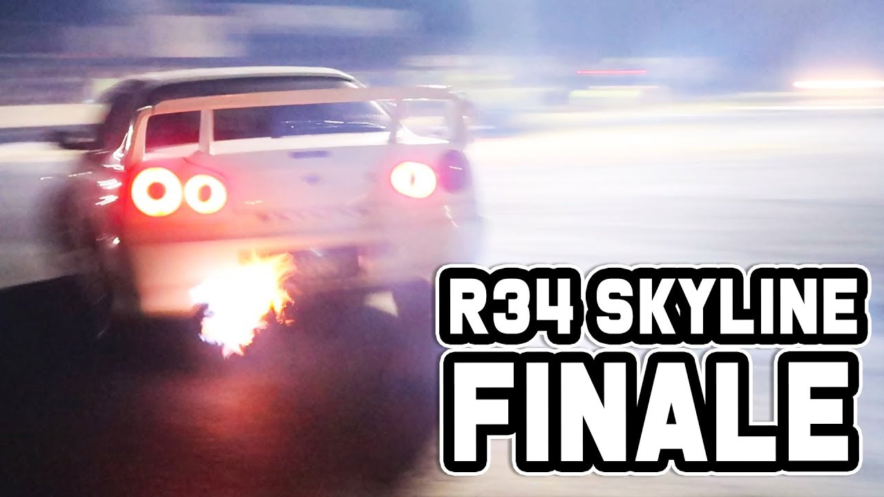 R34 SKYLINE FINALE! - Heading back to Japan!
