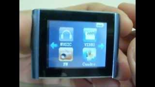 Eclipse T180 mp3 player (ipod nano 6 gen imitacion)