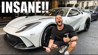 STRAIGHT PIPED NOVITEC 812 N-LARGO DESTROYS LONDON!