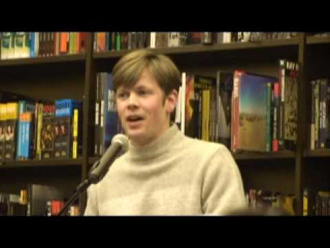 """Christopher Rice, discussion of """"Blind Fall,"""" Part 1"""
