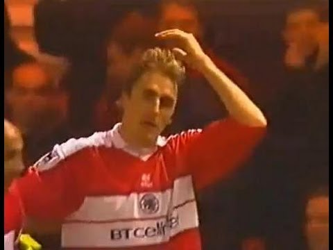 Middlesbrough v Derby County 2000-01 BOKSIC GOAL