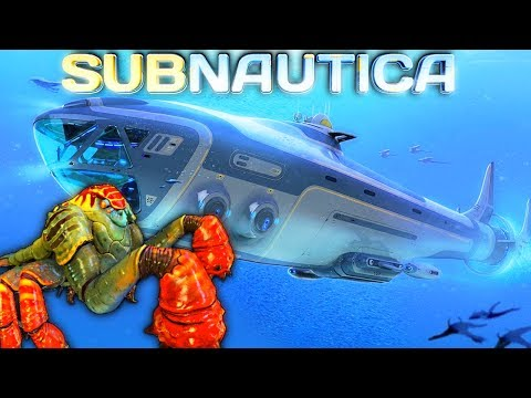 Subnautica LIVESTREAM - SLAVE TO THE SEA EMPEROR! BASE WORK, CRAFTING THE SEAMOTH  PT2 Gameplay