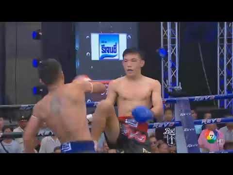 Toyota ReVo Bangkok Muay Thai Marathon 2017 Bardon Museclub vs Petsiri Por Siripong