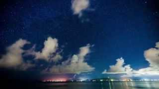 Okinawa 沖繩英仙座流星雨 Timelapse Part A (2013.08.13)