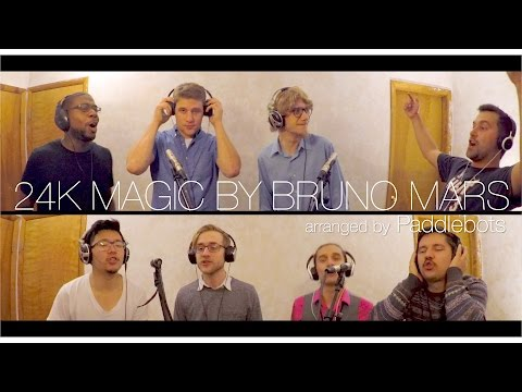 24K Magic (Bruno Mars) – Paddlebots