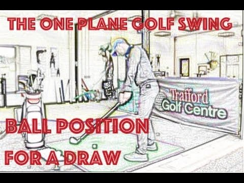 how to set up for a draw shot in golf