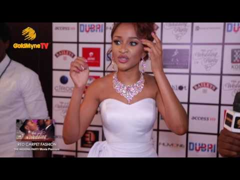 RED CARPET FASHION, THE WEDDING PARTY MOVIE PREMIERE (Nigerian Music & Entertainment)