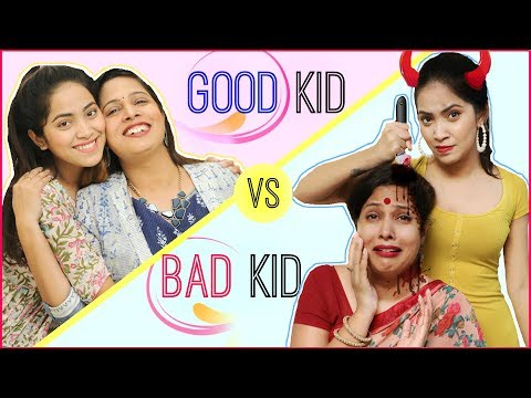 GOOD Girl vs BAD Girl … | #Teenagers #Mom #Fun #Sketch #RolePlay #Anaysa #ShrutiArjunAnand