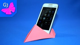 Оригами подставка под смартфон #2 | Поделки из бумаги | Своими руками(, 2016-03-28T12:01:56.000Z)