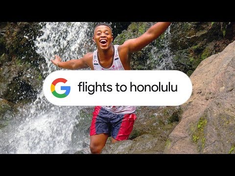 Google Search: Flight Info (Honolulu)