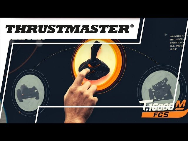 Thrustmaster T16000M FCS Flight Pack Review: VR Flight Sims