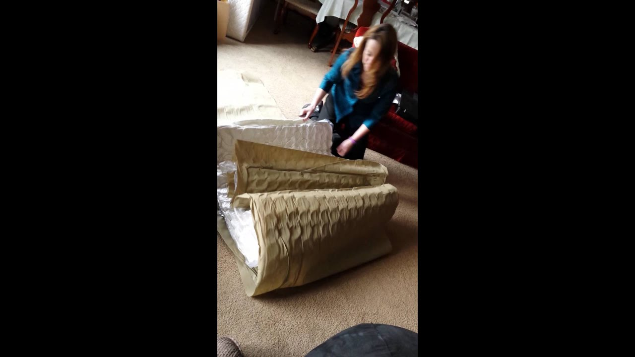 The box mattress from Walmart YouTube