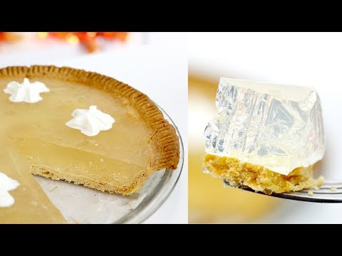 How to Make CLEAR Pumpkin Pie... WTF?? | RECIPE