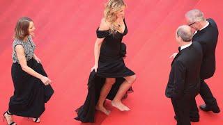 Julia Roberts, descalza en Cannes