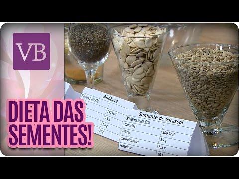 Dieta das Sementes - Você Bonita (27/06/16)