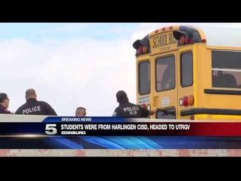 Edinburg PD: Harlingen Student Died after Falling Off Bus