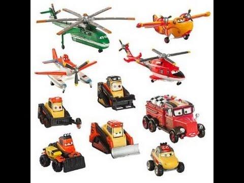 Disney aviones y vehiculos de incendios y salvamento - Juguetes disney cars ...
