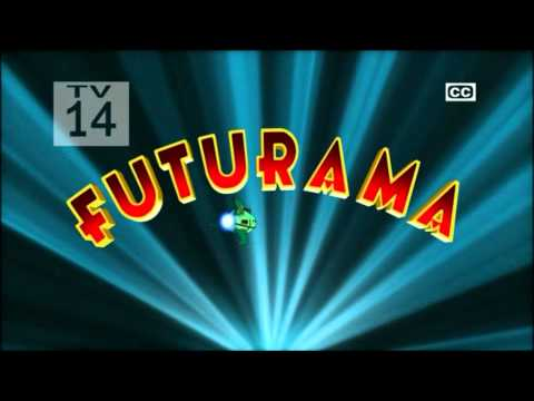 [HD] Futurama Intro