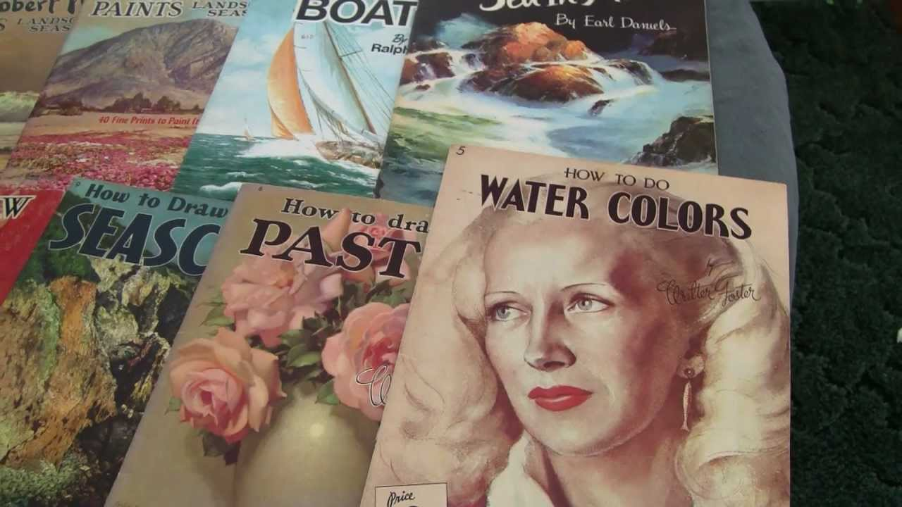 Vintage Walter Foster How To Draw And Paint Youtube