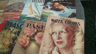 Vintage Walter Foster How To Draw and Paint