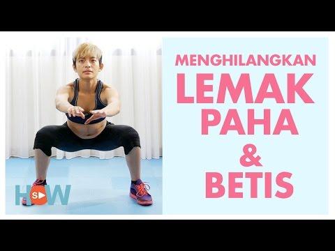 Lakukan Ini Untuk Mengecilkan Paha Dan Betis Dengan Mudah | Latihan Workout 5 Menit