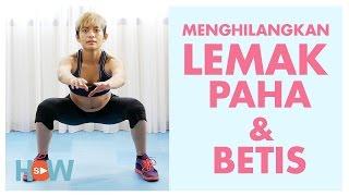 Lakukan Ini Untuk Mengecilkan Paha Dan Betis Dengan Mudah Latihan Workout 5 Menit Youtube