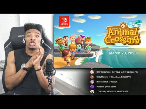 "ETIKA REACTS TO ""ANIMAL CROSSING – NEW HORIZON"" REVEAL ( E3 2019 )"
