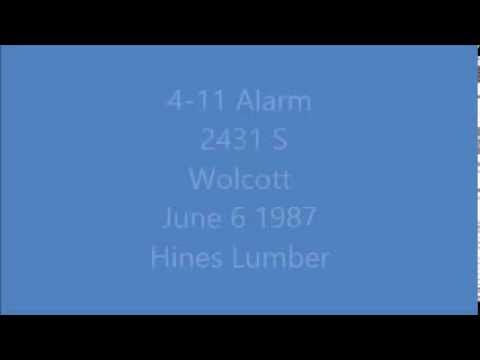Radio Traffic 4-11 Alarm 2431 S Wolcott 1987