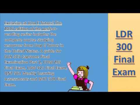 Online Tutorials for University of Phoenix Courses - Online Video Lessons |  UopETutors