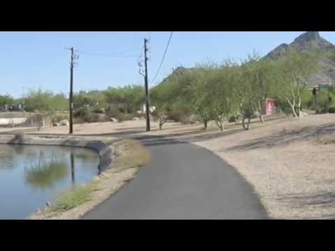 Bike Ride Arizona Canal to 32nd Street