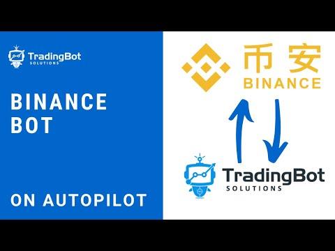 Binance Bot - Binance Crypto Trading Bot