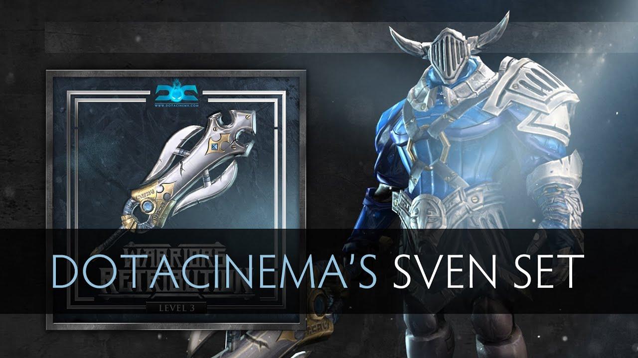 Dota 2 - DotaCinema's Sven Set - YouTube