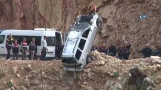 Adana'da Gölete Uçan Otomobildeki Baba ve Çocukların Cesedine Ulaşıldı