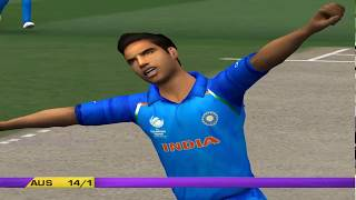 India vs Australia - 5 Overs Match 3 Part 1 - EA CRICKET 2018 PC Gameplay