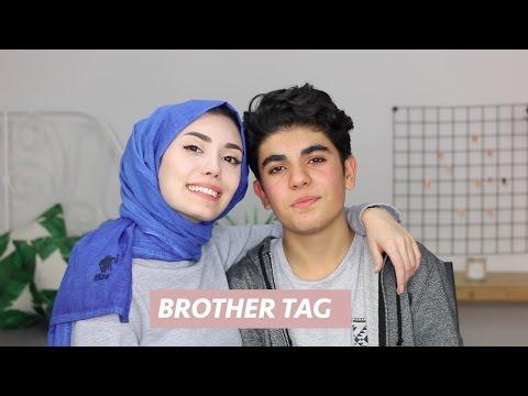 Brother Tag│Erkek Kardeşimle Soru-Cevap