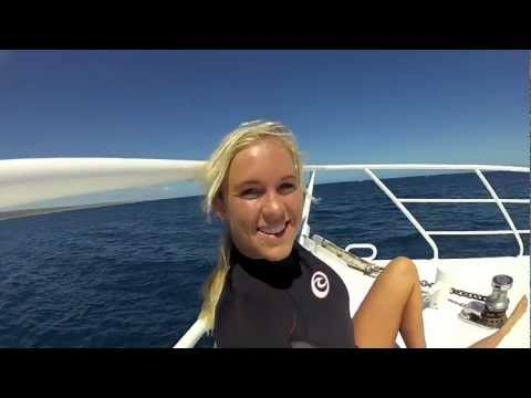 Bethany Hamilton Swimming With Sharks