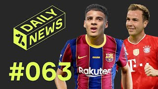 Barcelona's NEW defender + ExBayern player in SHOCK return! ► Daily News