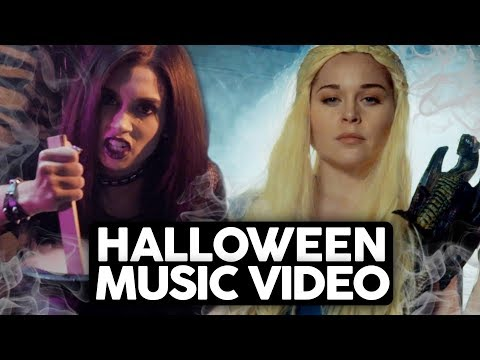 5 TYPES OF GIRLS ON HALLOWEEN (Music Video Parody)